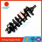 Quality forklift crankshaft wholesale, 45HRC casting 4JG2 crankshaft 8-97023-182-1 for ISUZU forklift wholesale