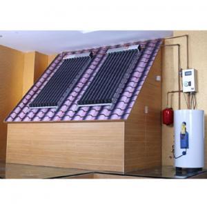 One copper coil split solar water heater system