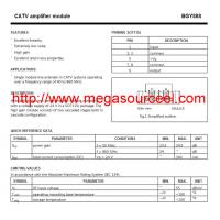 Quality CAT Application BGY888 Amplifiers-Video Amps and Modules Integrated Circuit Chip wholesale