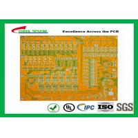 Quality Mortherboard Quick Turn Printed Circuit Boards  with Yellow Solder Mask FR4 1.6MM wholesale