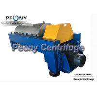 Quality Centrifugal Continuous Oil Extraction Machine Decanter Centrifuges wholesale