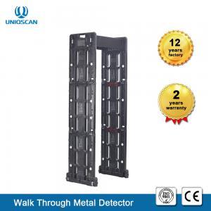 Quality Fireproof  24 Zone Foldable Walkthrough Metal Detector Door Frame High Sensitivity wholesale