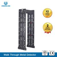 Quality Fireproof  24 Zone Foldable Walkthrough Metal Detector Door Frame High Sensitivity wholesale