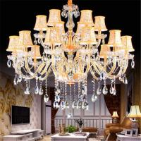 China Modern Gold led crystal chandelier Lighting Fixtures (WH-CY-52) on sale
