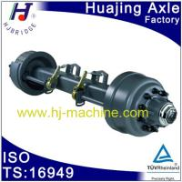 China 16Ton trailer Axle Assembly with 2 air chamber and decks on sale