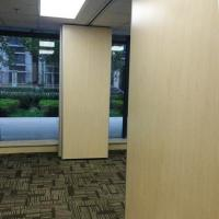 China Polyester Fiber Board Interior Decorate Operable Partition Walls / Movable Room Divider Partition on sale