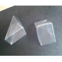 Quality 2014 new product clear plastic box triangle box gift box wholesale