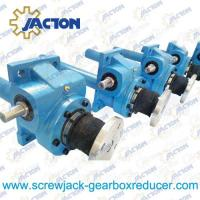 Quality 100 KN Mechanical Worm Gear Screw Jack Trapezoidal lifting Screw 50MM Height Adjustment wholesale
