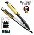 Quality 2 IN 1 ionic hair straightening machine M514 wholesale