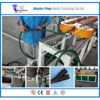 China Top Manufacturer for PVC PE PP PA Single Wall Corrugated Pipe Machine on sale