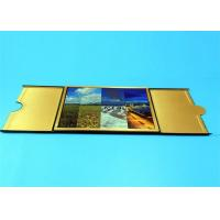 Quality Hardcover Book Printing Services with Golden Edge Sewing Binding 210mm x 297mm wholesale