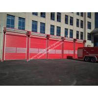 Quality Overhead Aluminum Alloy Insulated Panel High Speed Rollup Door for Logistic Warehouse wholesale