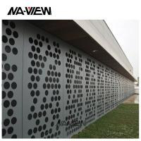 China Add to CompareShare A2 Grade Aluminium Plastic Composite Panel Alucobond Perforated Wall Cladding Aluminum Composite P on sale