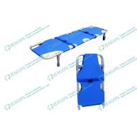 Quality First Aid Ambulance Stretcher , aluminum alloy collapsible stretcher with outrigger wholesale