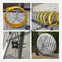 Quality HDPE duct rod,Reels for continuous duct rods,Pipe traker traceable midi duct rodder wholesale
