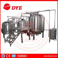 Quality Energy Efficient Beer Making Machine Home Brew Equipment PLC Or Touch Screen wholesale