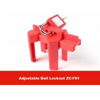 Quality CE Approval Corrosion Resistance OSHA Standard Adjustable Ball Valve Lockout wholesale