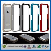Quality Aluminum Metal Slide-On Frame Bumper Apple Cell Phone Cases Cover For Iphone 5 wholesale
