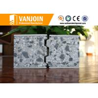 Fireproof Composite Panel Board For Hotel Buildings , Wall Insulation Boards