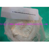 Anabolic Testosterone Steroids Powder 4-Chlorodehydromethyltestosterone/(Oral Turinabol) for Bodybuilding CAS 2446-23-3