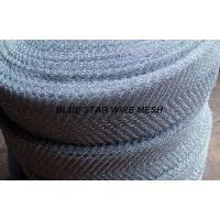 Quality Crimped / Corrugated Knitted Wire Mesh Round / Flat Wire Stainless Steel / Inconel 600 & 601 / Monel 400 wholesale