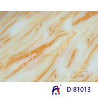 Quality Weilaiyi Marble PVC Coating Window Decorative Film 0.12-0.18mm Thickness wholesale