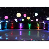 Quality Lighting Inflatable Event Decoration , LED Inflatable Balls Customized For Party wholesale