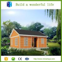 Cheap small steel frame prefabricated house fast build for Small metal homes for sale