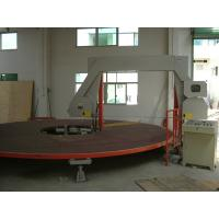 Quality Circle Horizontal Sponge Cutting Machine With Rotating Table For PU Square Foam wholesale