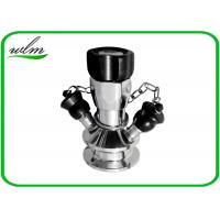 Quality Manual Operated Hygienic Sample Valves With Tri Clamp Sample Inlet Connection wholesale