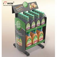 Quality Drive Sales Food Store Supply Metal Display Rack Tiered Crisp Sauce Display Stands wholesale