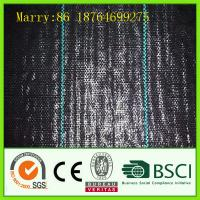 Quality black pp woven weed control fabric wholesale