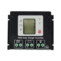 China 12V / 24V PWM Solar Charge Controller , Solar System Charge Controller Dual Period Design on sale