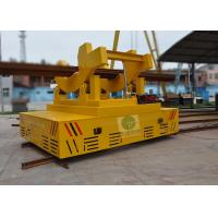 China High speed electric automatic low voltage rail transfer vehicle with safety device on sale