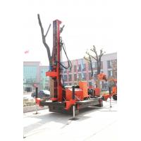 Quality Full Hydraulic Jet Grouting Drilling Rig Double Winch , DTH Drill Machine wholesale