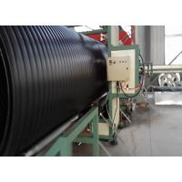 Quality large diameter hollow wall winding spiral pe/hdpe pipe production line extrusion machine manufacturing for sale wholesale
