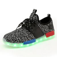 Quality Teenager Flashing Rechargeable LED Sneakers For Event Nights Long Life wholesale