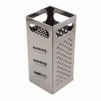 Quality Box Grater S/S, Planer Knifes, 4 Different Sides, Made of Stainless Steel, Extra Heavy wholesale