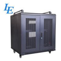 Quality 800KG Loading Capacity Server Rack Cabinet PDU Rack IP20 SPCC Material Rolling Wheels With Braked wholesale