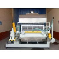 Quality Rotary Type Paper Egg Tray Machine 4000pcs / H Long Life Span Customized Molds wholesale