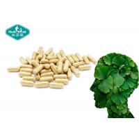 Quality Ginkgo Biloba Capsules / Tablets / Softgels Promotes Healthy Brain Function & Circulation wholesale