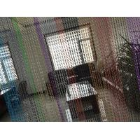 Quality Aluminum Chain Curtain Fly Screens/Anodized Fly Door Chain Curtains Factory wholesale