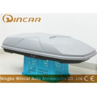 Quality Dual Open 445L Sliver off road Car Roof Boxes in ABS Material , 189*89*36cm wholesale