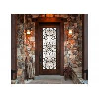 Quality Eloquent Wrought Iron Glass Tranquility Screening Light Transmission  Iron Oxides Natural Light wholesale