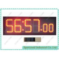 Quality Ultra Bright Led Digital Clock Display , Countdown And Clockwise Clock Time Board wholesale