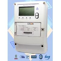 China 4 Channel Commercial Electric Meter , Three Wire / Four Wire 3 Phase Kwh Meter on sale