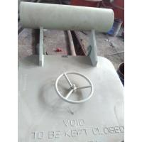 China Marine Steel Hatch Cover , Quick Action Wheel Handle Type Access Hatch Cover on sale