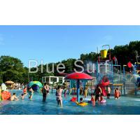 Quality Kids Small Spray Colorful Water Park Playground For Children Water Park wholesale
