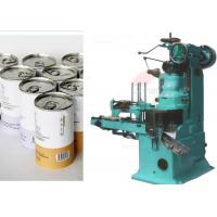 China High speed automatic tin can Food Packaging machines 380V / 60HZ 1.2KW on sale