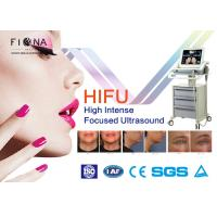 Quality Multifunctional 2 In 1 HIFU Beauty Machine Skin Care / Weight Loss 7MHZ Frequency wholesale